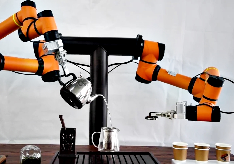 Business Insider: A brilliant dual arm robot that gracefully prepares, pours and serves four perfect cups of chinese tea